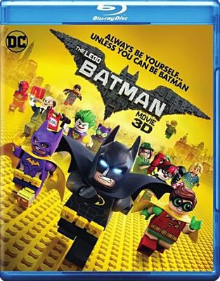 Cover image for The Lego Batman movie [3D]