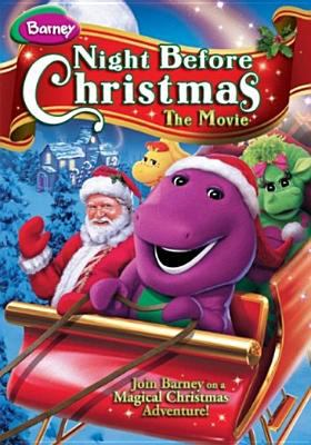 Cover image for Barney's Night before Christmas