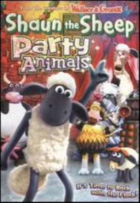 Cover image for Shaun the sheep. Party animals