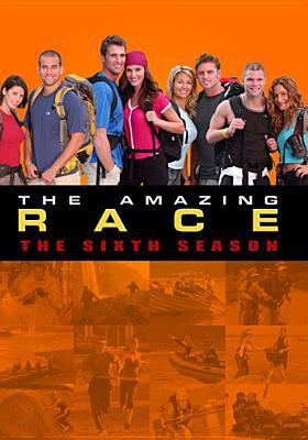 Cover image for The amazing race. The sixth season