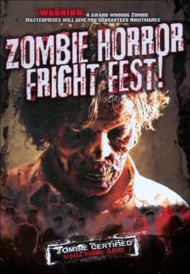 Cover image for Zombie horror fright fest