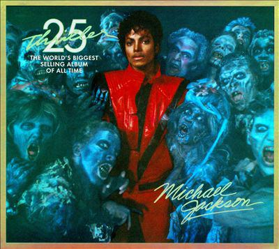 Cover image for Thriller 25 the world's biggest selling album of all time