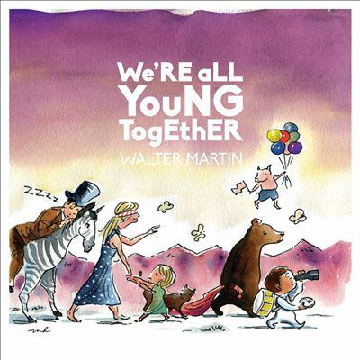 Cover image for We're all young together