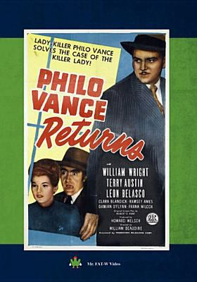 Cover image for Philo Vance returns