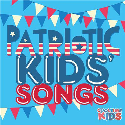 Cover image for Patriotic kids' songs