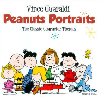 Cover image for Peanuts portraits the classic character themes