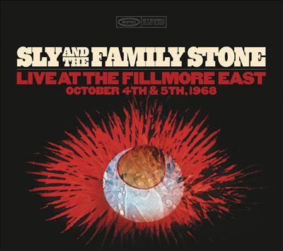 Cover image for Live at the Fillmore East, October 4th & 5th, 1968