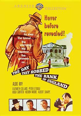 Cover image for The day they robbed the Bank of England