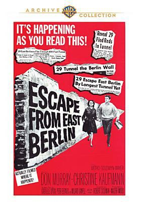 Cover image for Escape from East Berlin