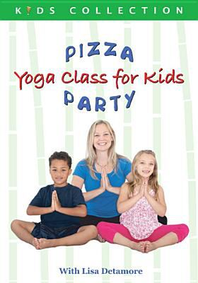 Cover image for Pizza party. Yoga class for kids