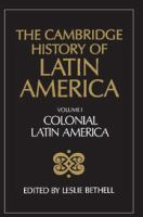 Cover image for The Cambridge history of Latin America