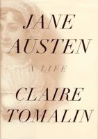 Cover image for Jane Austen : a life