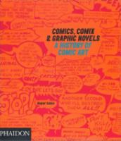 Cover image for Comics, comix & graphic novels