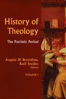 Cover image for History of theology