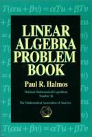 Cover image for Linear algebra problem book