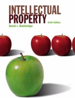 Cover image for Intellectual property.