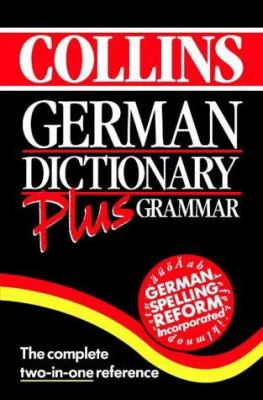 Cover image for Collins German dictionary plus grammar.