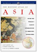 Cover image for The history atlas of Asia