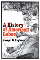 Cover image for A History of American labor : expanded and updated.