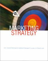 Cover image for Marketing strategy