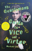 Cover image for The gentleman's guide to vice and virtue