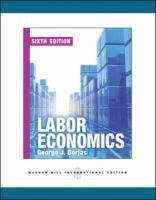 Cover image for Labor economics