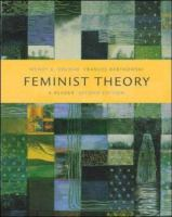 Cover image for Feminist theory : a reader