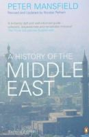Cover image for A history of the Middle East