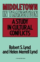 Cover image for Middletown in transition : a study in cultural conflicts