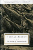 Cover image for The origins of totalitarianism