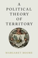 Cover image for A political theory of territory