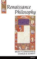 Cover image for Renaissance philosophy