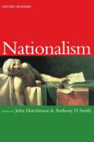Cover image for Nationalism