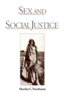Cover image for Sex & social justice.