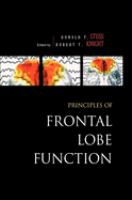 Cover image for Principles of frontal lobe function
