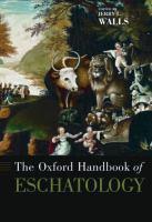 Cover image for The Oxford handbook of eschatology
