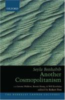 Cover image for Another cosmopolitanism