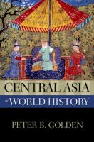 Cover image for Central Asia in world history