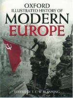 Cover image for The Oxford illustrated history of modern Europe
