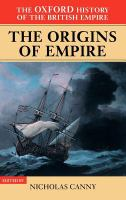 Cover image for The Oxford history of the British Empire