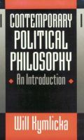 Cover image for Contemporary political philosophy : an introduction