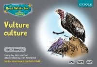 Cover image for Vulture culture