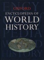 Cover image for Encyclopedia of world history