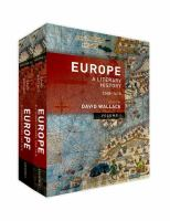 Cover image for Europe : a literary history, 1348-1418