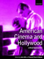 Cover image for American cinema and Hollywood : critical approaches