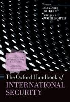 Cover image for The Oxford handbook of international security