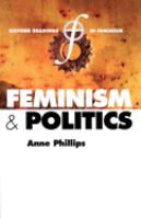 Cover image for Feminism and politics