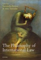 Cover image for The philosophy of international law