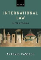 Cover image for International law