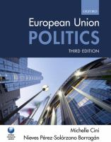 Cover image for European Union politics